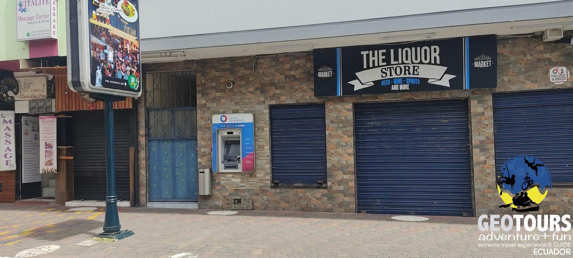 Foto ATMs in Baños, Ecuador  - TIPS