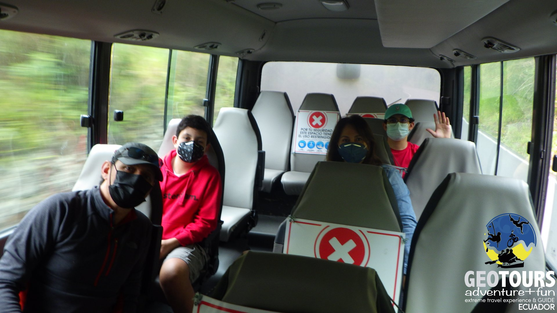 Biosecurity measures for tourism in Baños de Agua Santa