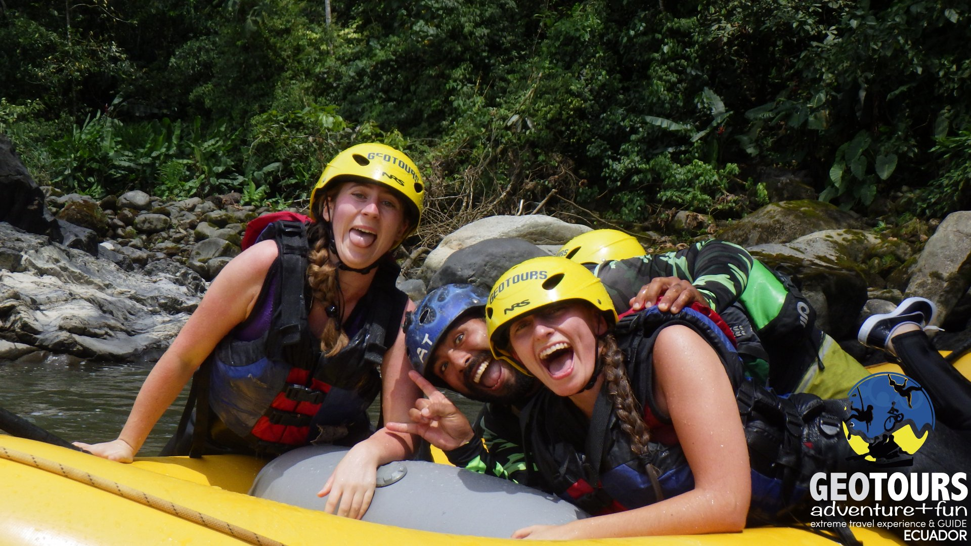 A Day of Rafting in Banos de Agua Santa