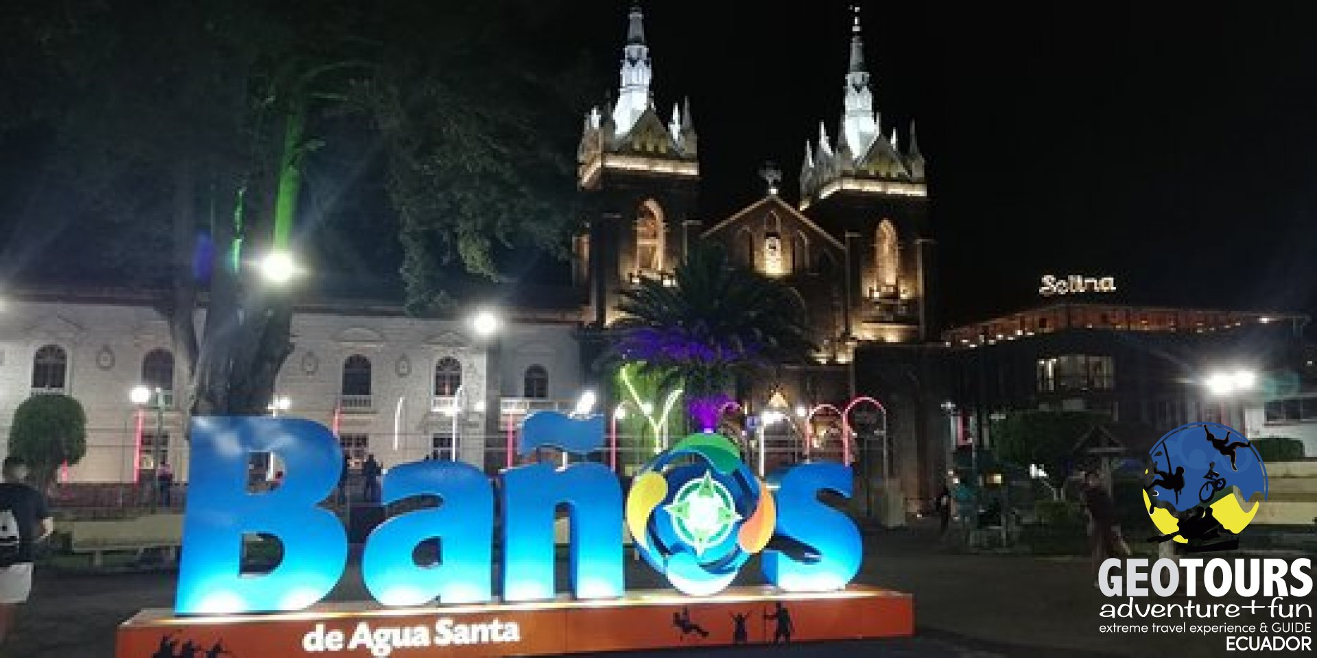 Foto Staying the night in Baños, Ecuador