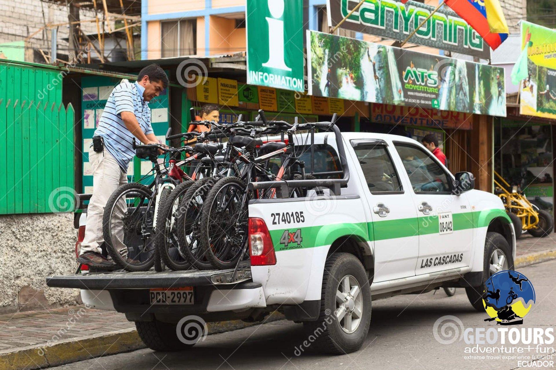 Foto Taxi Guide at Baños de Agua Santa