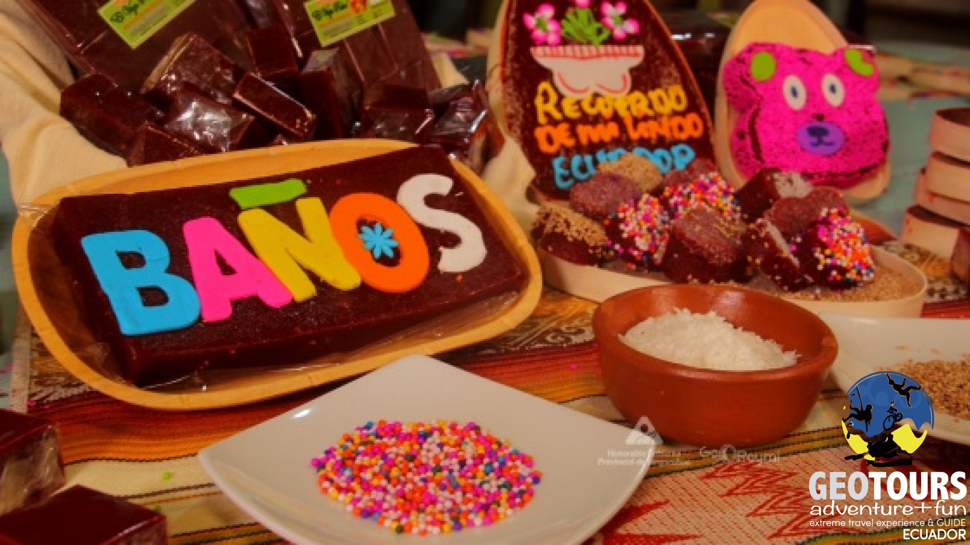 Dishes and candies that you must taste if you visit Baños de Agua Santa