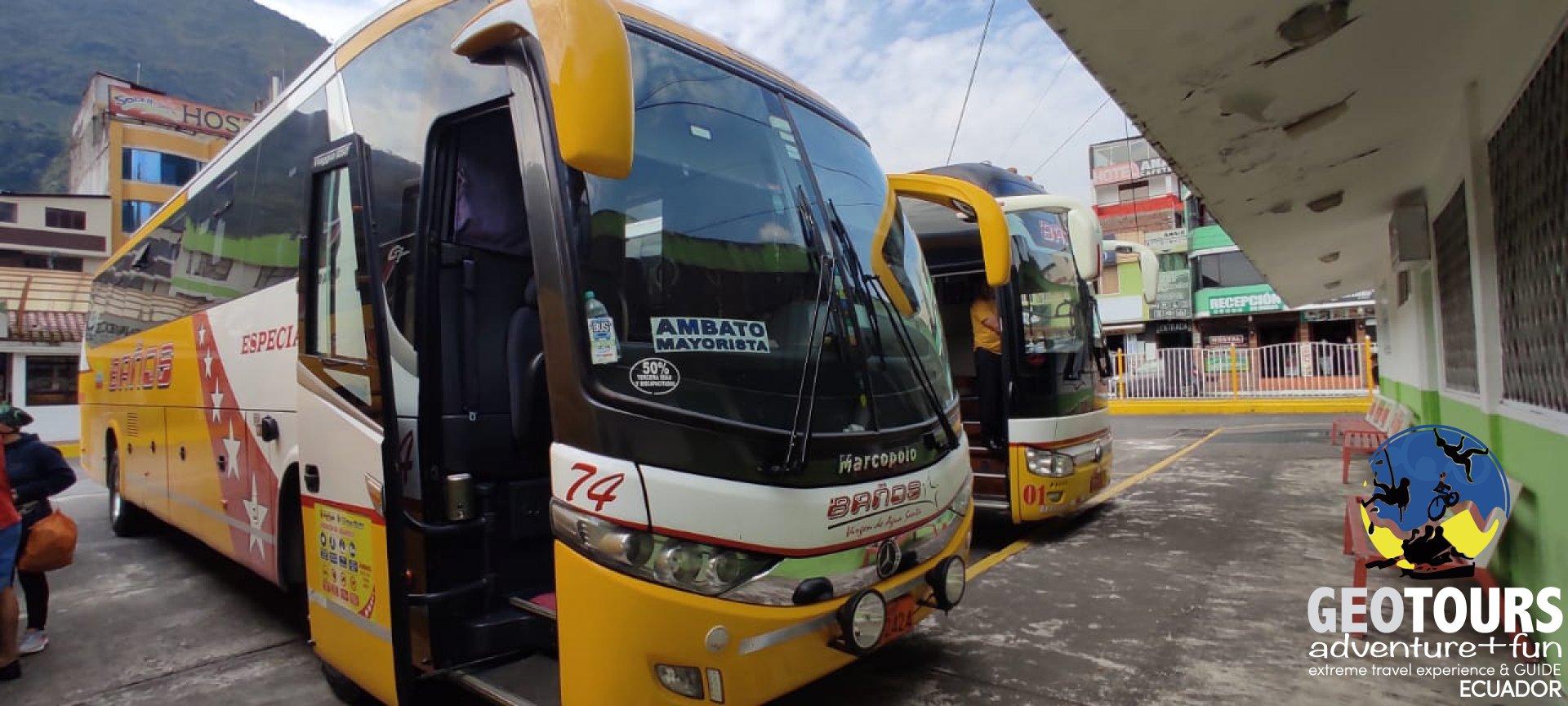 Foto Traveling to Baños, Ecuador