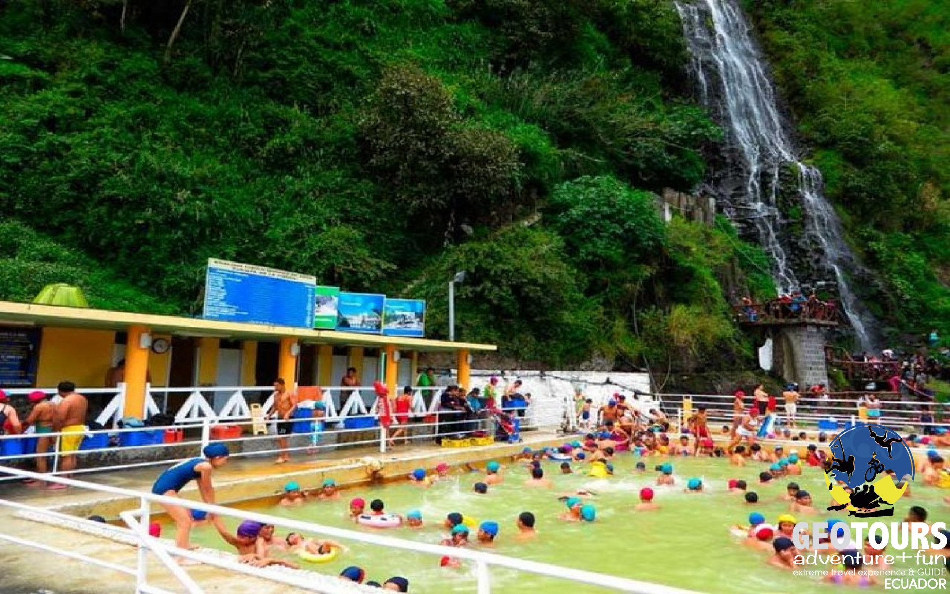 Foto Tourist Places of Baños de Agua Santa