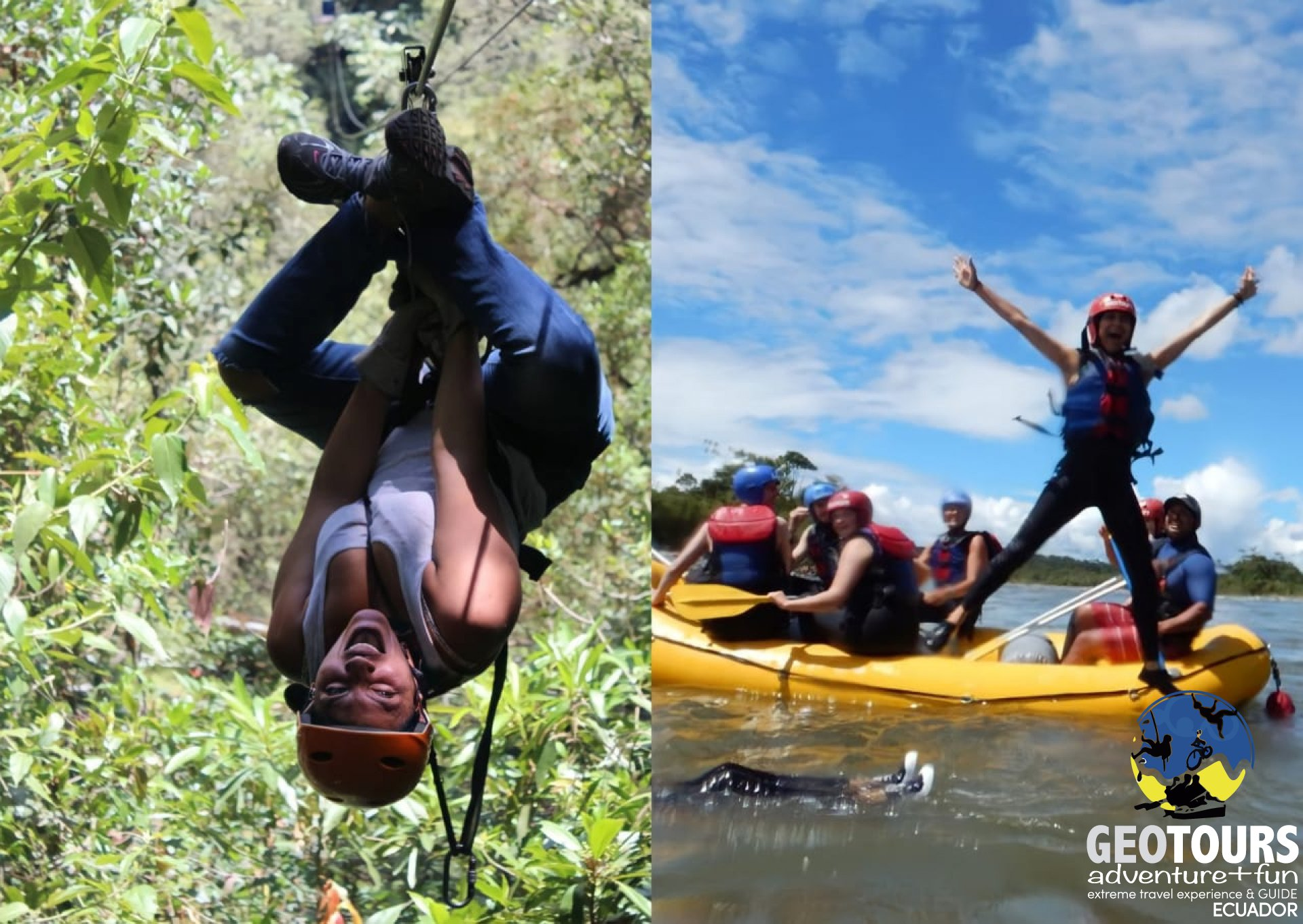 Canopy & Rafting – Full Day Tour