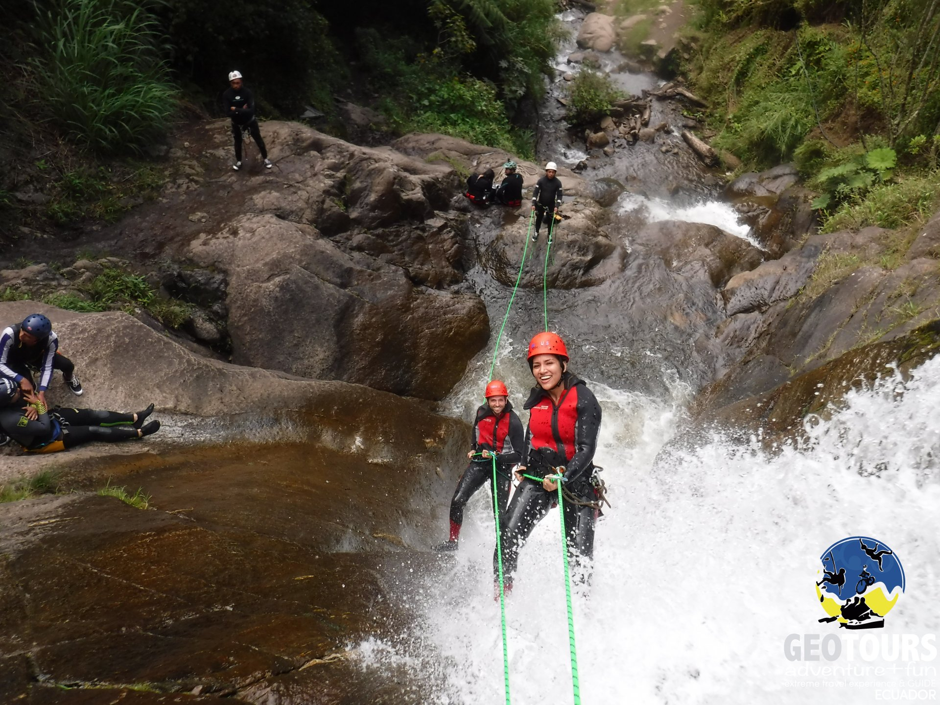 Canyoning Chamana – Half Day Tour level III