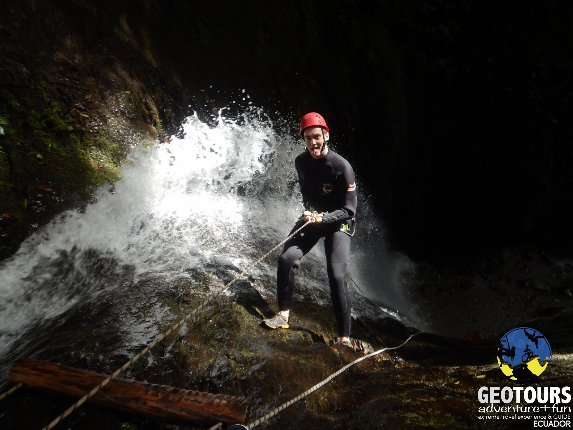 Canyoning Río Blanco- Tour Half Day Level III