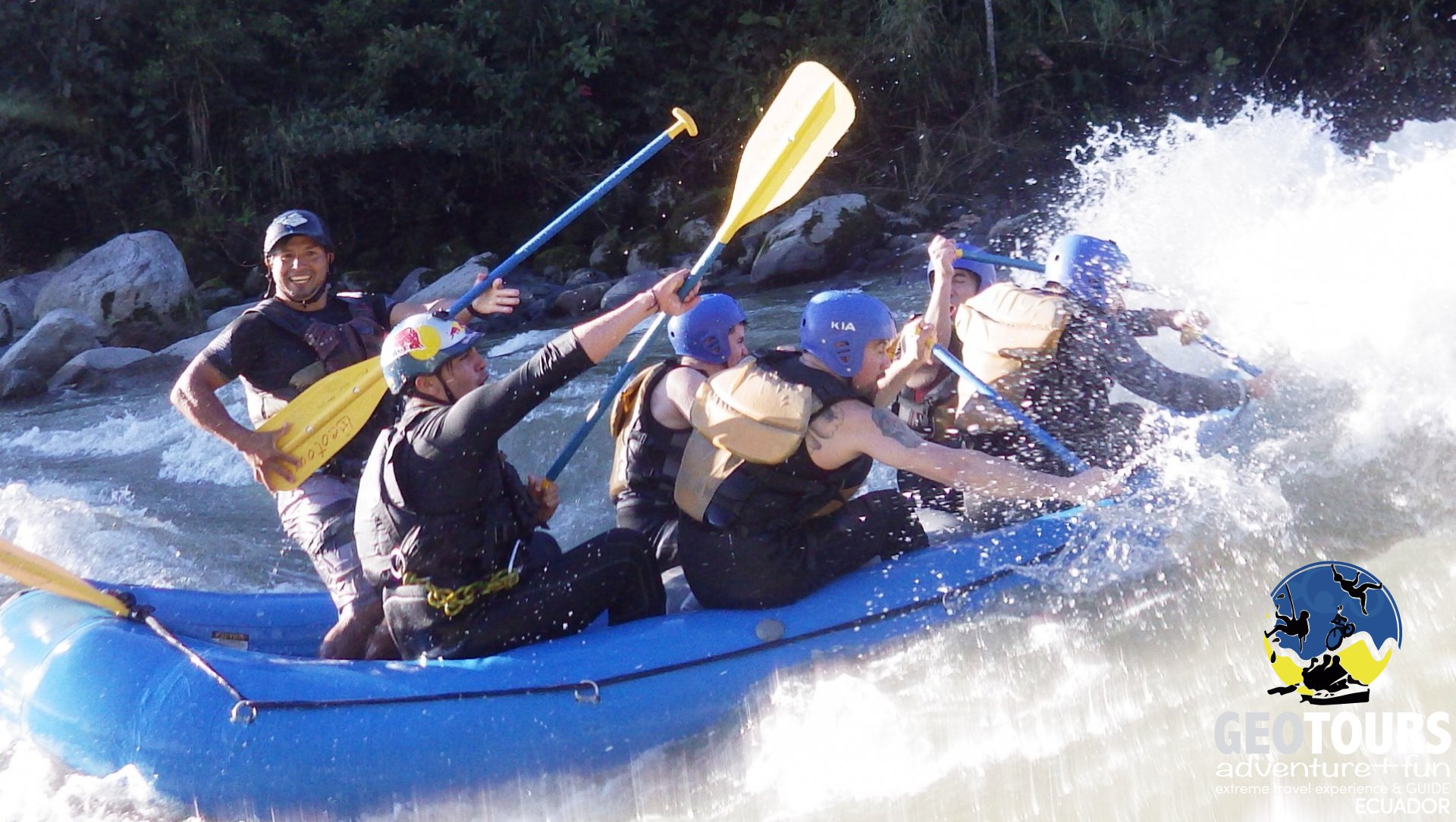 Extreme Rafting Adventure – Full Day Tour
