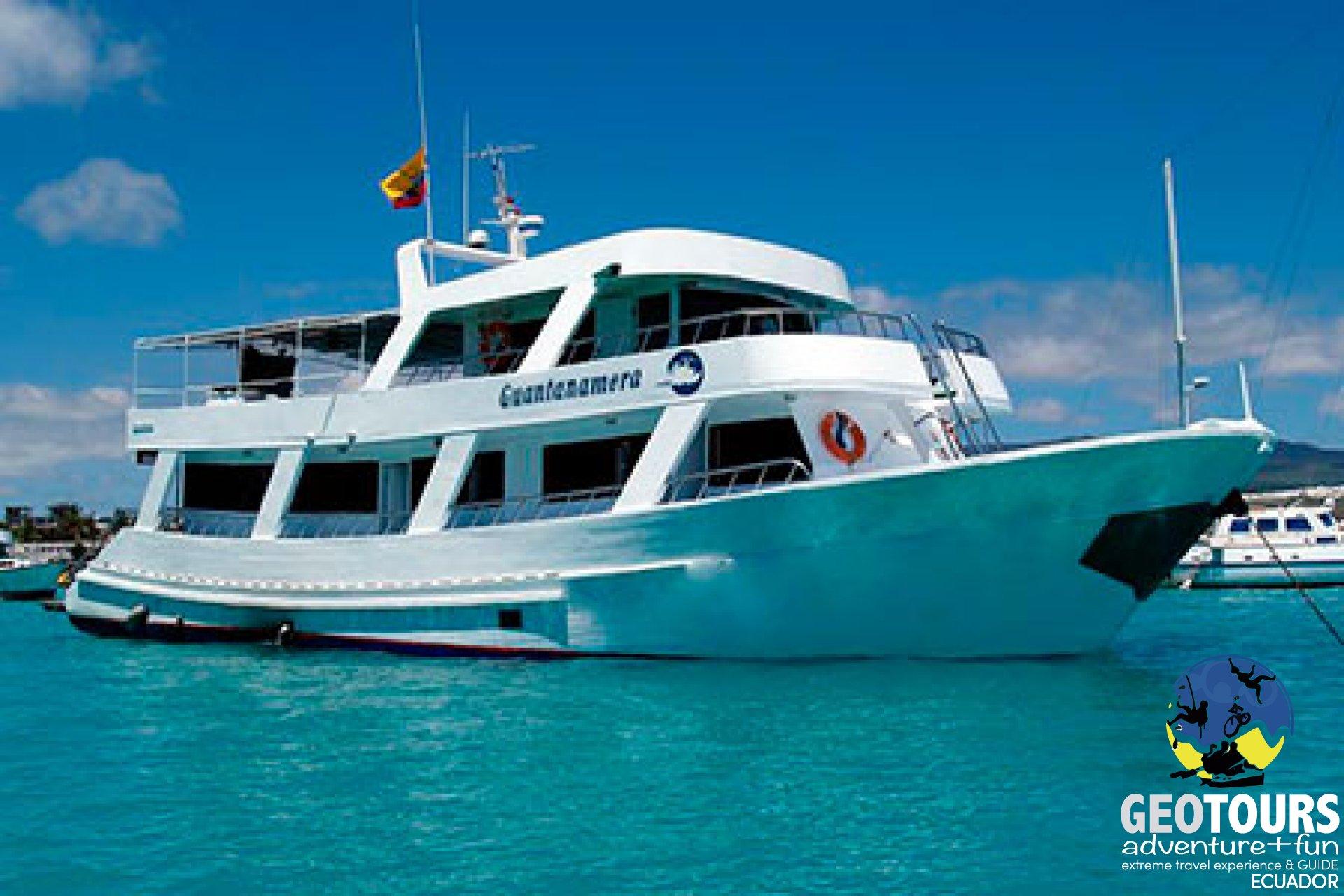 Guantanamera Yacht - Galapagos Islands