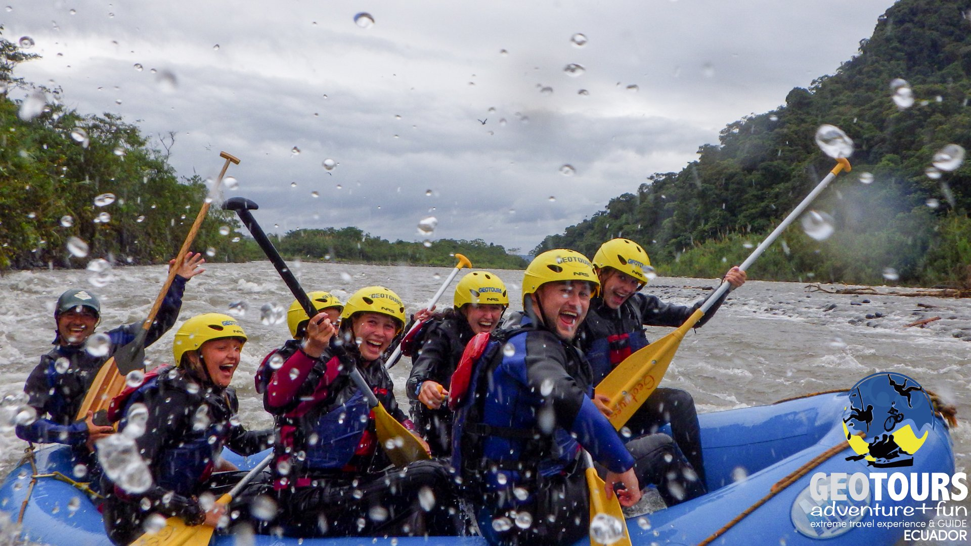 Extreme Adventure Rafting Tour– Full Day Tour