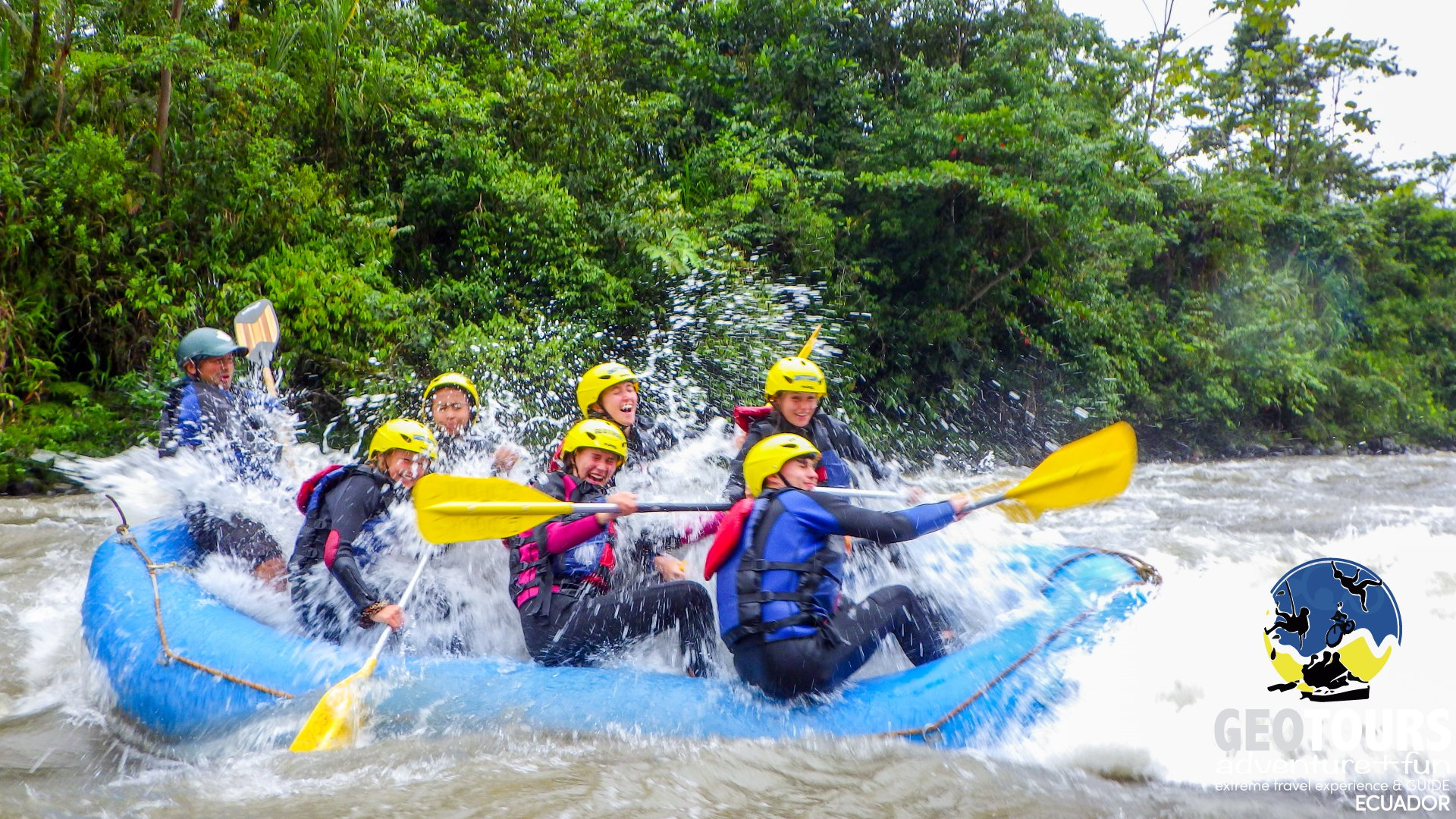 Whitewater Rafting Tour Upper Pastaza Level III+ IV