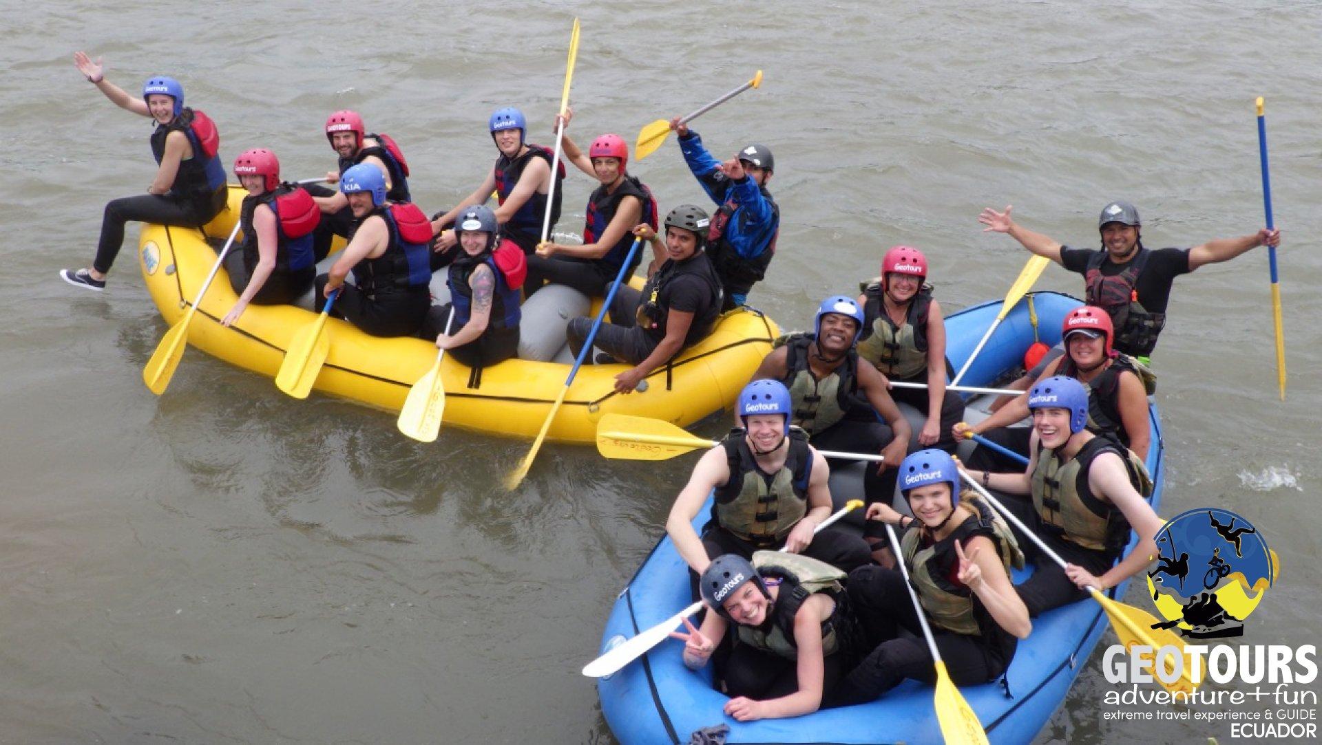 Rafting Aventura Tena  - Tour día completo Tena