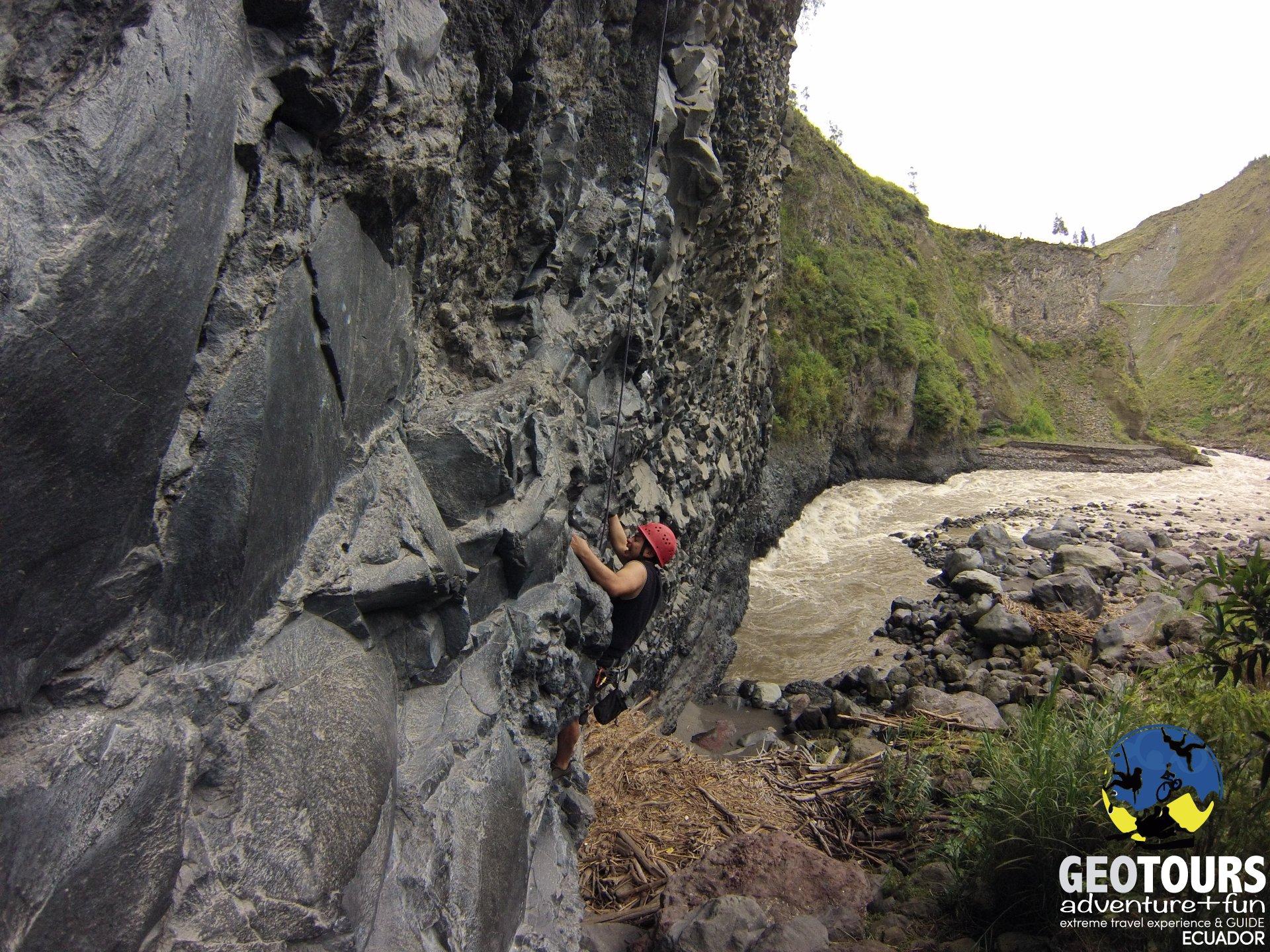 Rock Climbing Banos Ecuador - Half Day Tour