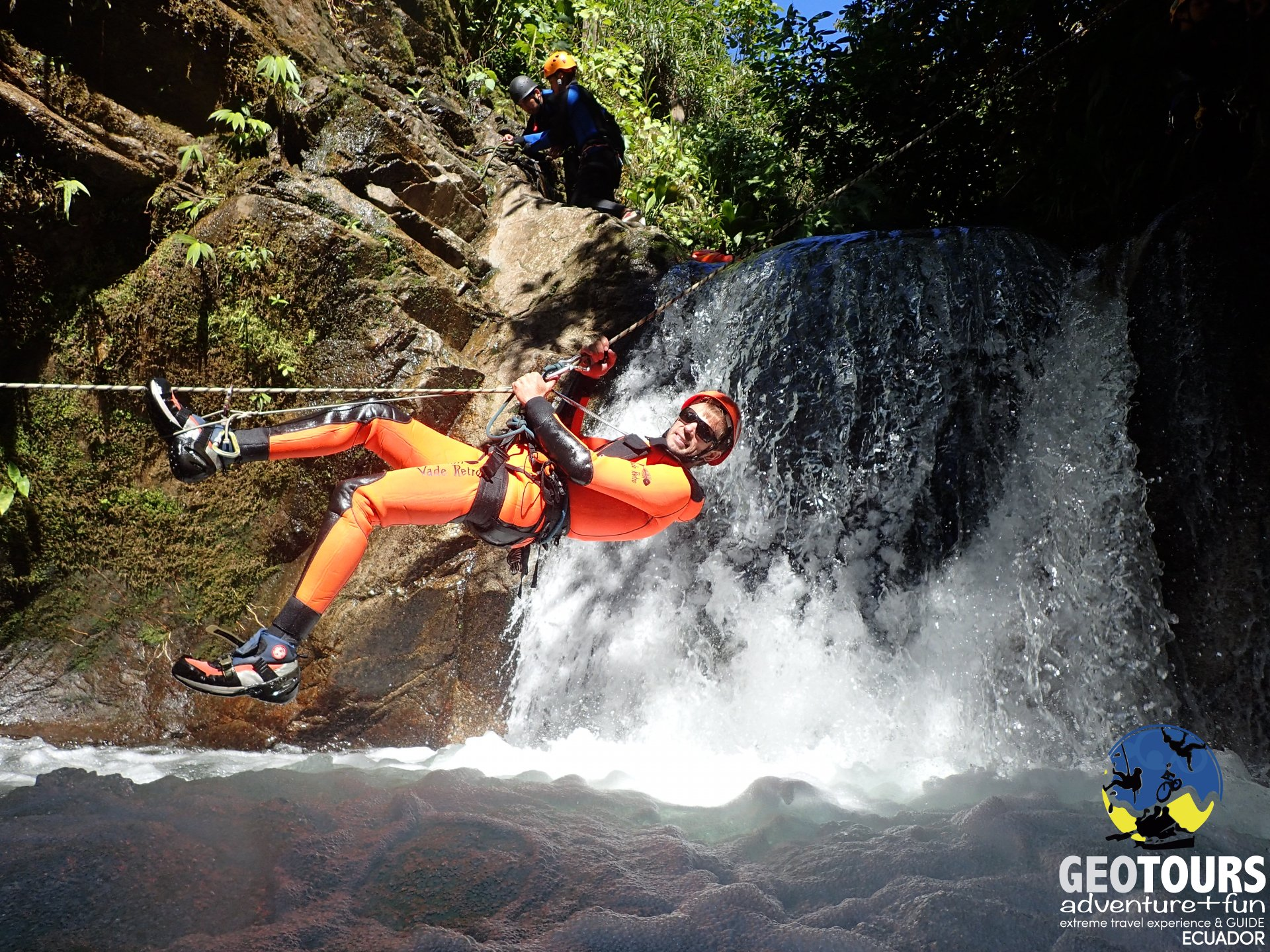 Canyoning Cashaurco – Half Day Tour level IV