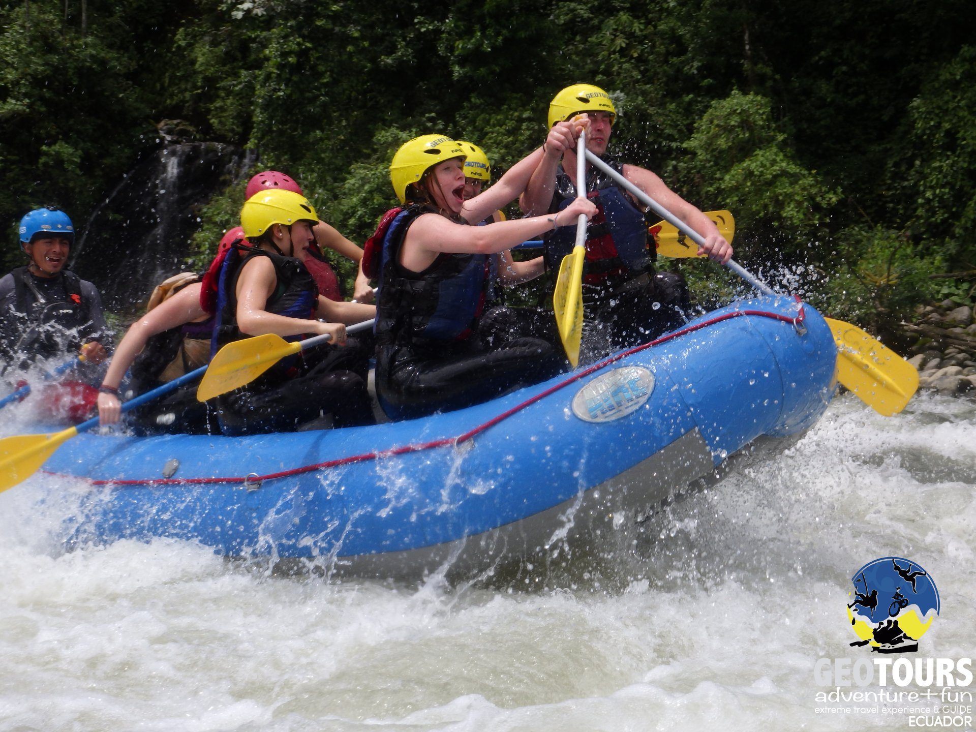 Whitewater Rafting Upper Pastaza Level III+ IV